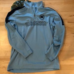 GUC Large Columbia North Carolina Tarheels Fleece